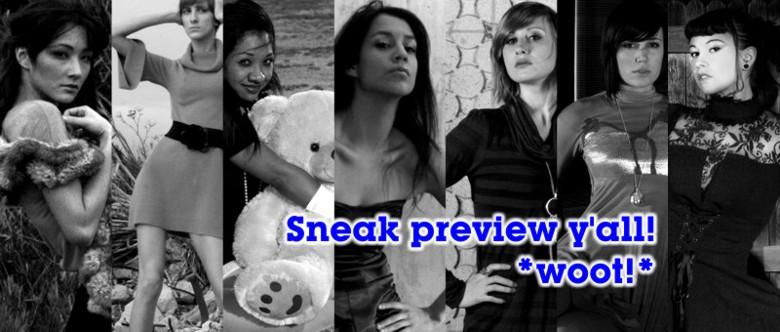 sneak preview!
