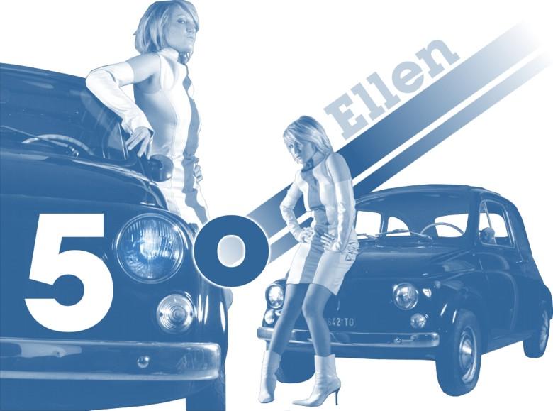 Ellen & a Fiat 500