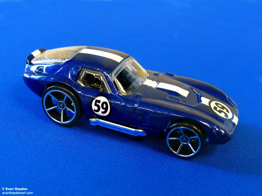 die-cast Shelby Cobra Daytona